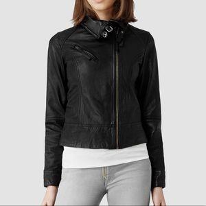 All Saints - Belvedere Leather Jacket